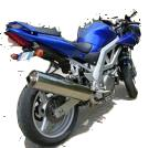 ESTRIBERAS ATRASADAS REGULABLES SUZUKI SV 600-650 99-2008