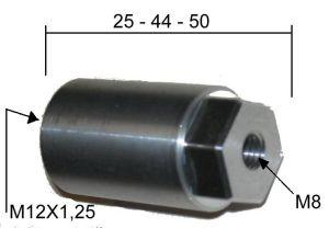 Distanciador especial con llave hexagonal